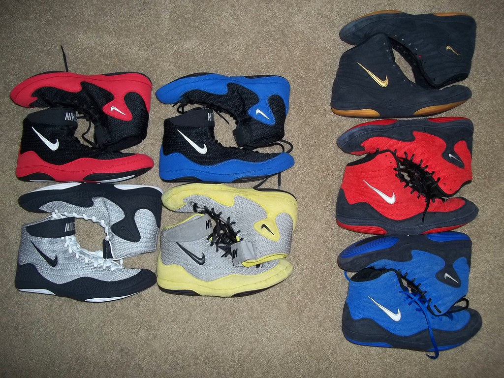 Nike Inflict  Wrestling Shoes For Sale