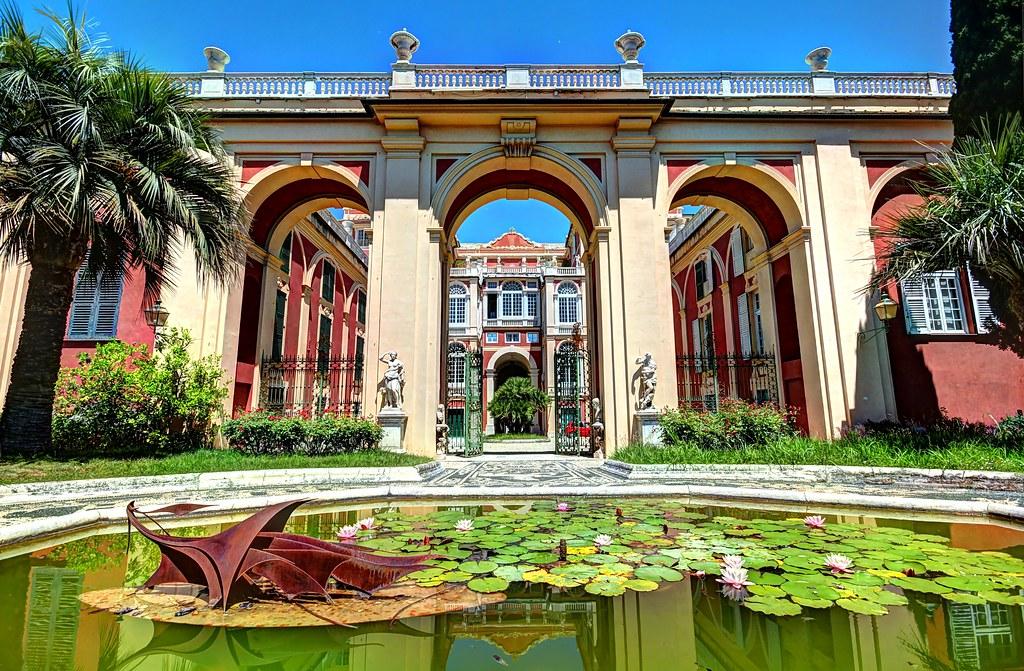Palazzo Reale à Gènes - Photo de Frederic