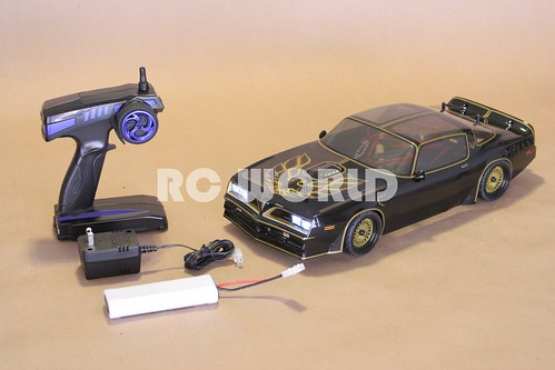 BRUSHLESS 1/10 RC PONTIAC TRANS AM SMOKEY & BANDIT | by RC WORLD RADIO CONTROL HOBBY