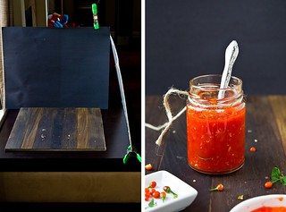 Setting up the shot: Homemade Garlic Chile Sauce | by TheBrewer&TheBaker