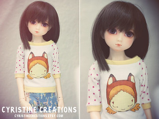 Fox Girl slim MSD shirt | by Cyristine