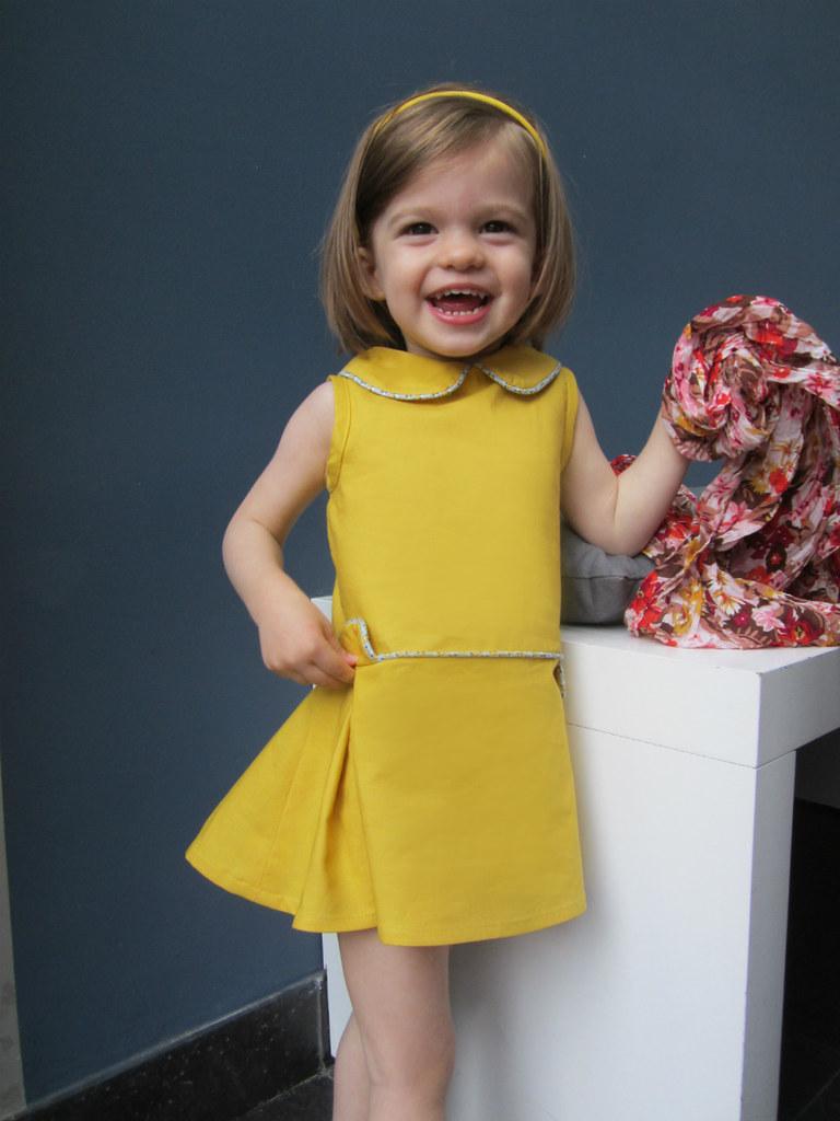 Retro dress from u0026quot;Couture Vintage Enfantsu0026quot; | retro dress frou2026 | Flickr