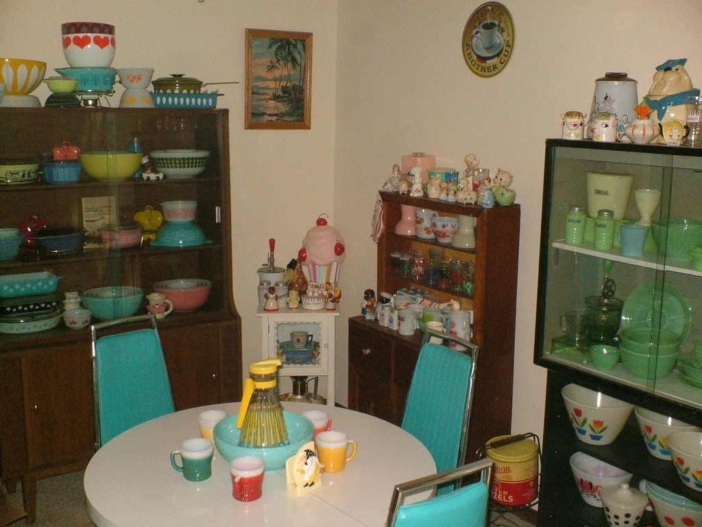 My vintage room of heaven aka my dining room let me for My dining room 9 course
