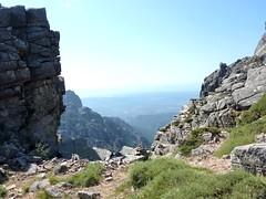 Col de Morellu : vue vers le S