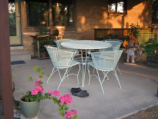 Repainted patio set | by MC Keith