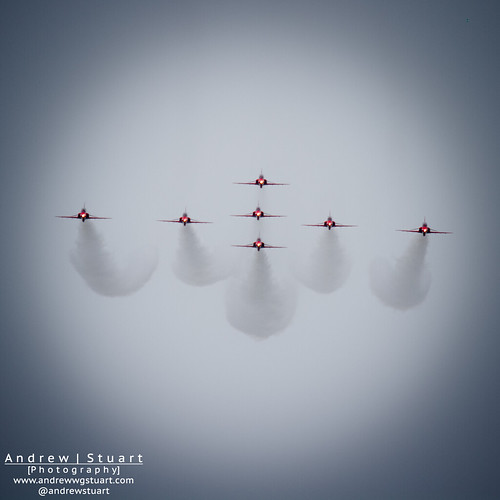 Red Arrows on Approach | by andrew.stuart1