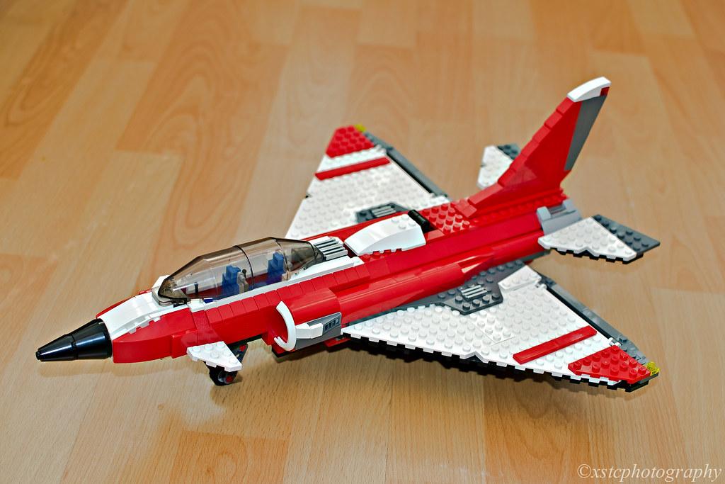 Jet Privato Lego : Lego fighter jet eurofighter typhoon xstc flickr