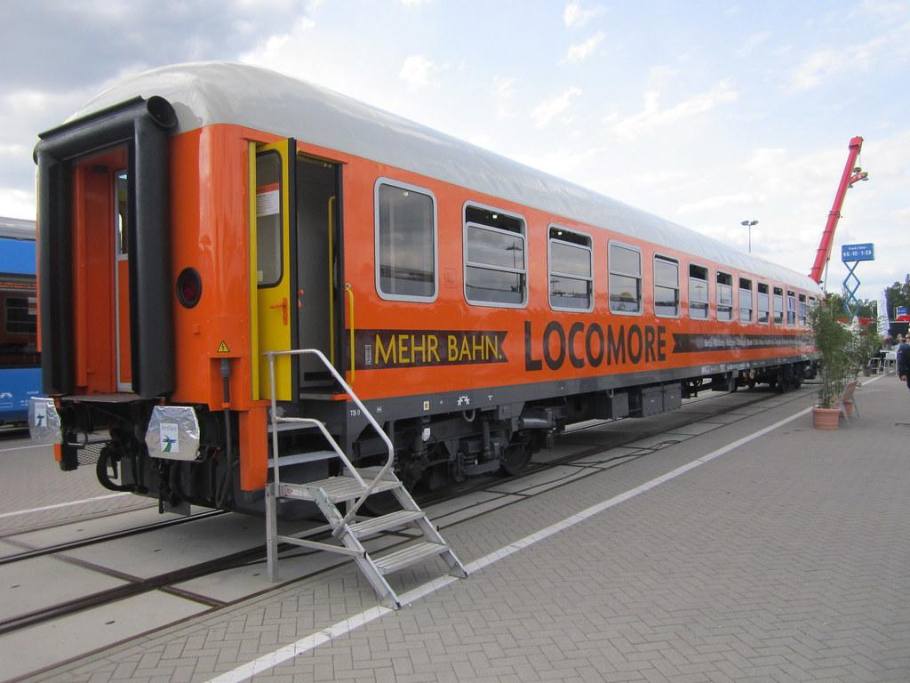 Locomore, Bahn