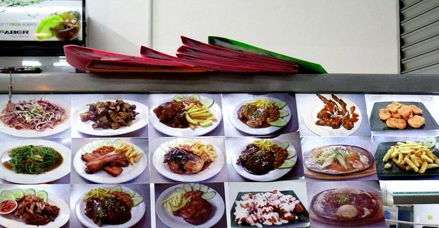 Ah Ping's menu
