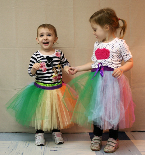 Isabel and Lucy in their Tutus | by Mle BB