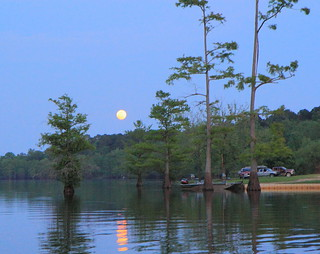 Supermoon on Finch Lake | by finchlake2000