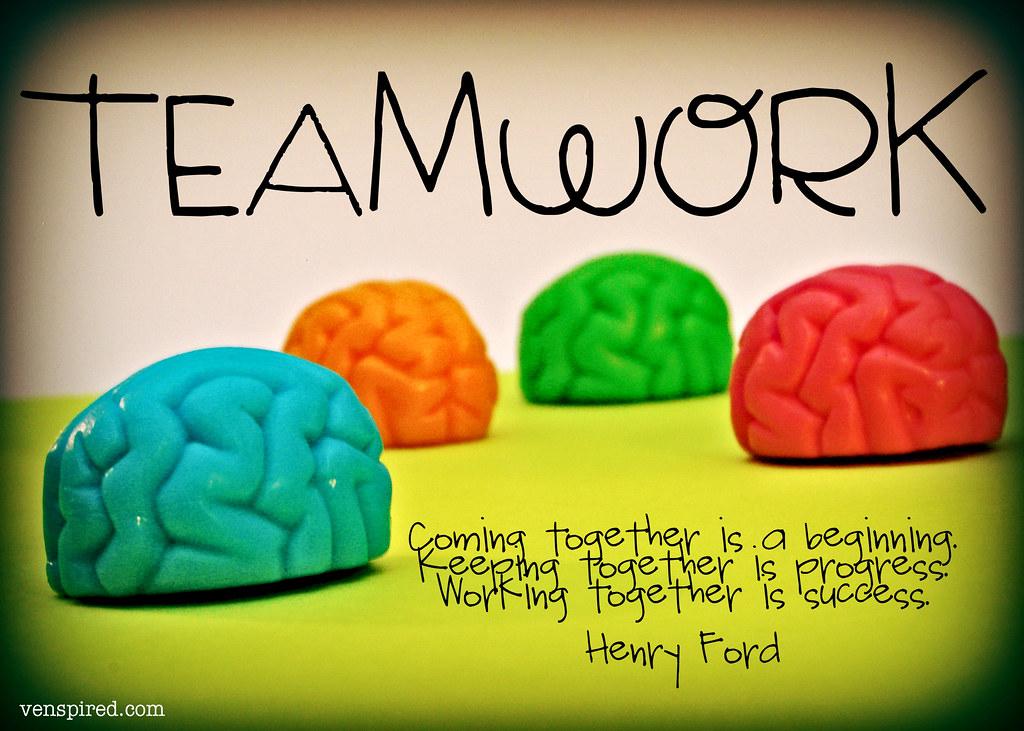 Teamwork | www.venspired.com | Krissy Venosdale | Flickr
