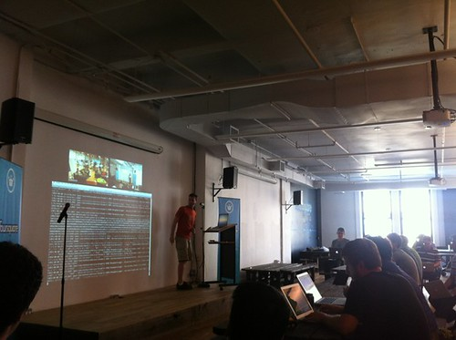 foursquare HQ at June 08, 2012 at 05:14PM - Demo day | by hoffrocket