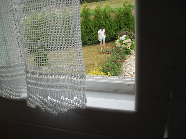 cortinas de ganchillo cuando aprend a hacer ganchillo