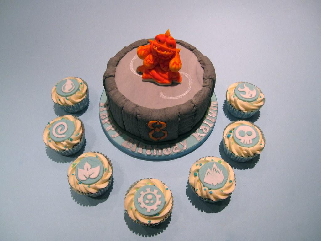 Cake Masters Skylanders Portal Cake