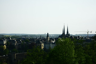 Luxembourg from my room | by OrliPix