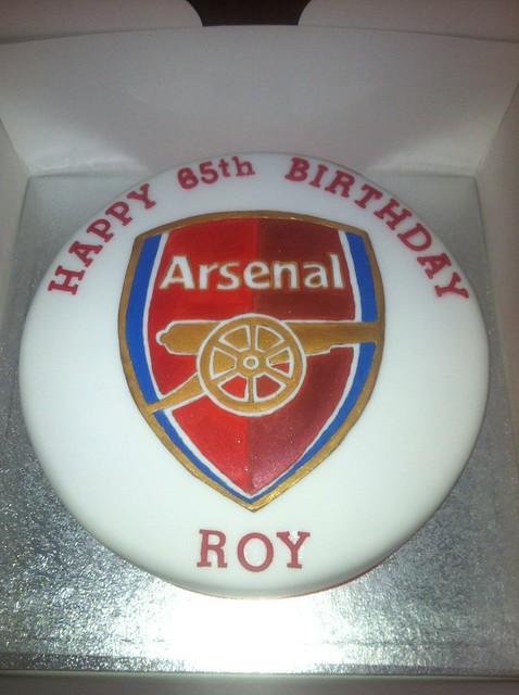 Arsenal cake  Flickr - Photo Sharing!