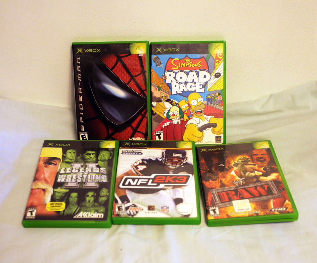 Original Xbox Games For Xbox : Original xbox games ebay itm lot of