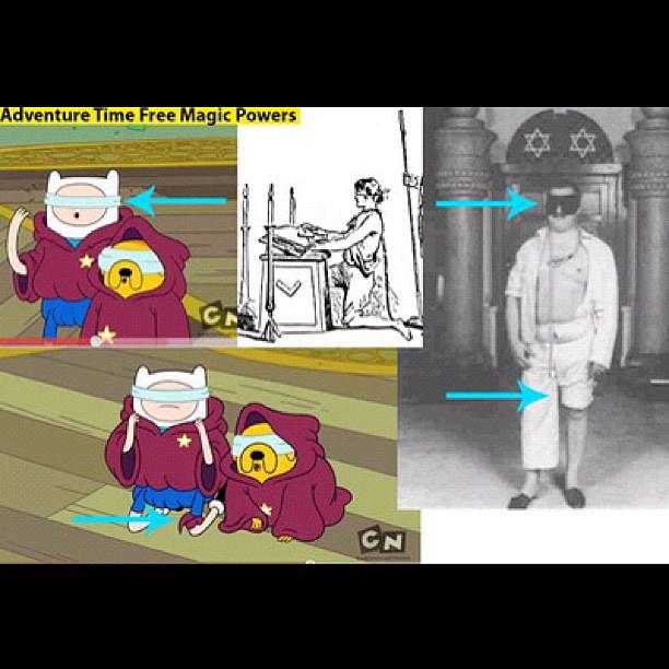 One Of Many Freemason Illuminati References In Adventure T