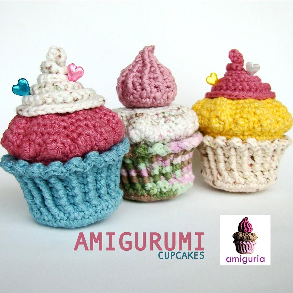 Amigurumi Cupcakes by Amiguria Hi!!!!! ^u^ Ive been ...