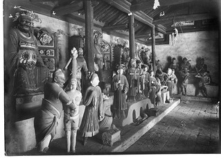 China, Miscellaneous Scenes: Representation of Buddhist hell in the Lung-wang Miao at Yan'an, Shaanxi | by Smithsonian Institution