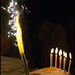 candles and cake ...