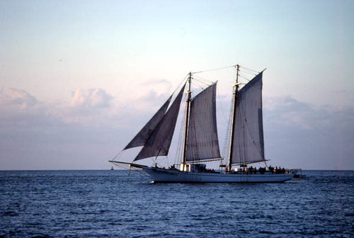 The Schooner Western Union at sunset: Key West, Florida | by State Library and Archives of Florida