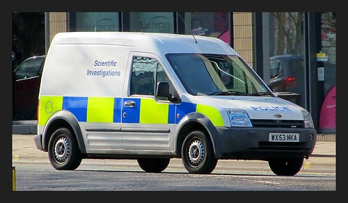 Avon & Somerset Police Ford Transit Connect Scientific Investigations | by british fire rescue pics
