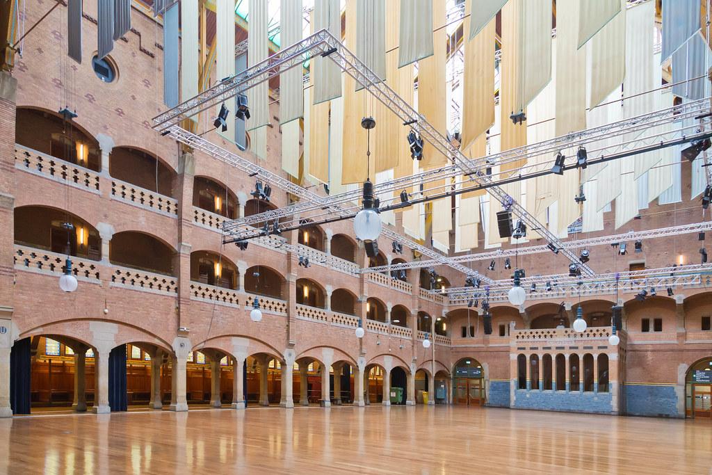 Amsterdam Beurs Van Berlage The Hall Where The