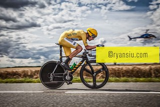 2012 Tour de France and Olympic Time Trial Champion Bradley 'Wiggo' Wiggins in the Stage 19 time trial | by inthery