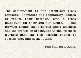 Pita Sharples ~ Commitment To Thinkers | by Mary_on_Flickr
