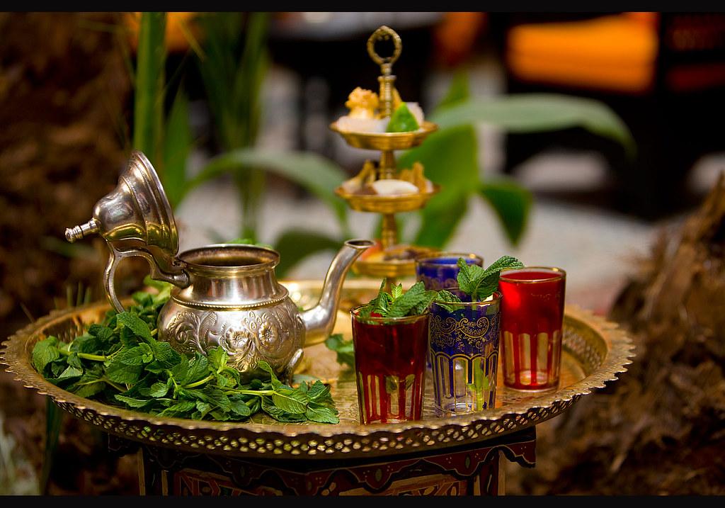 mint tea marrakech morocco mint tea marrakech morocco flickr. Black Bedroom Furniture Sets. Home Design Ideas