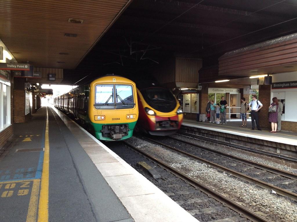 London Midland Class 323 Amp Virgin Trains Class 390 3