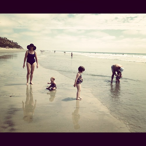 beach day with my parents, South Ponto | by girlsgonechild