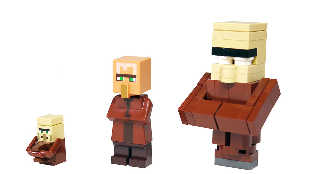 Lego Minecraft Villagers Watch My Review Www Youtube