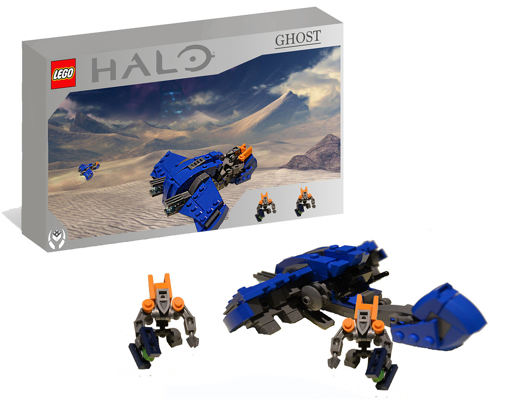 lego halo ghost bring fear to the uncs marines with the r flickr