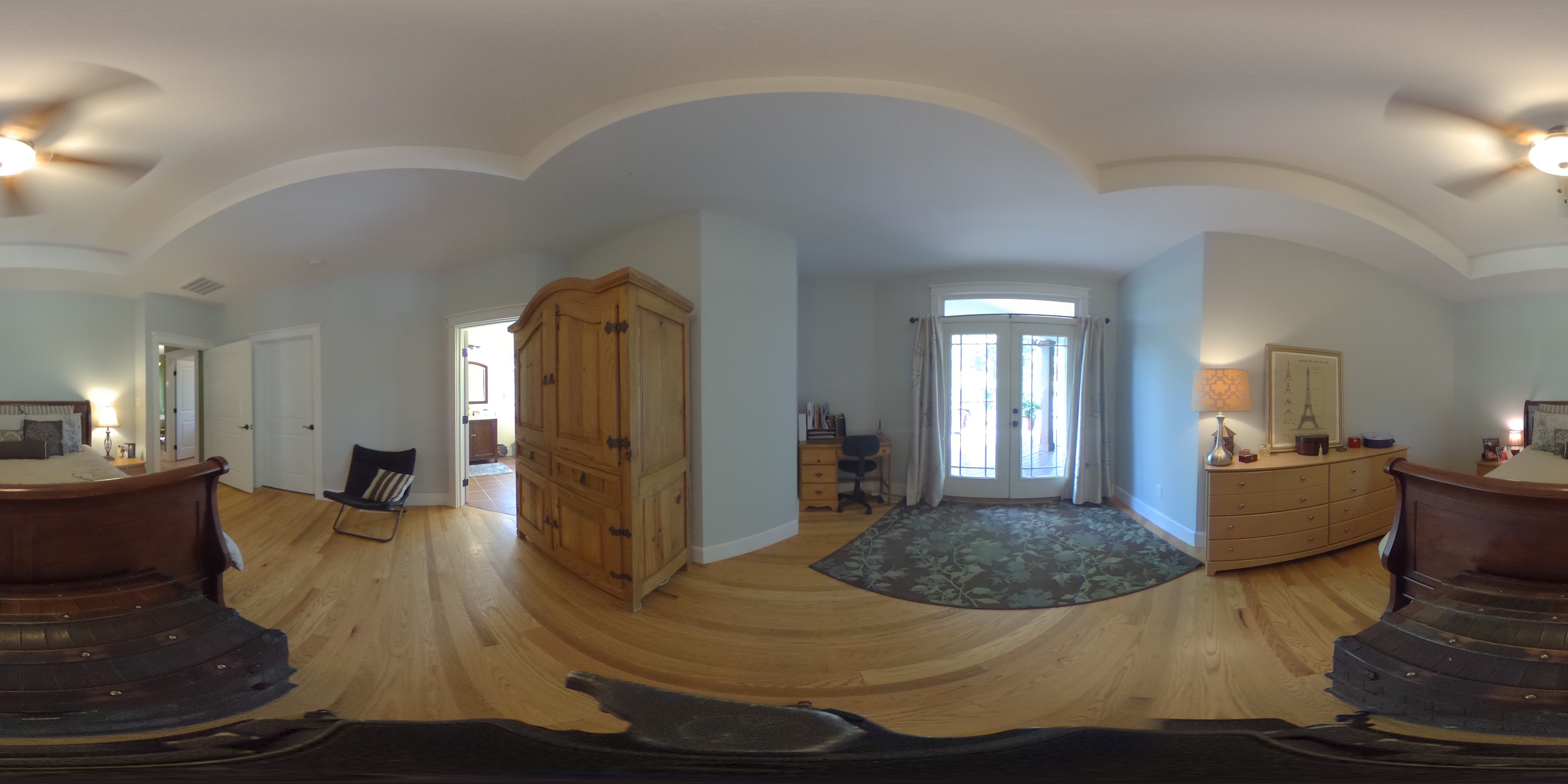 5 Nutwood Master Bedroom 360° View