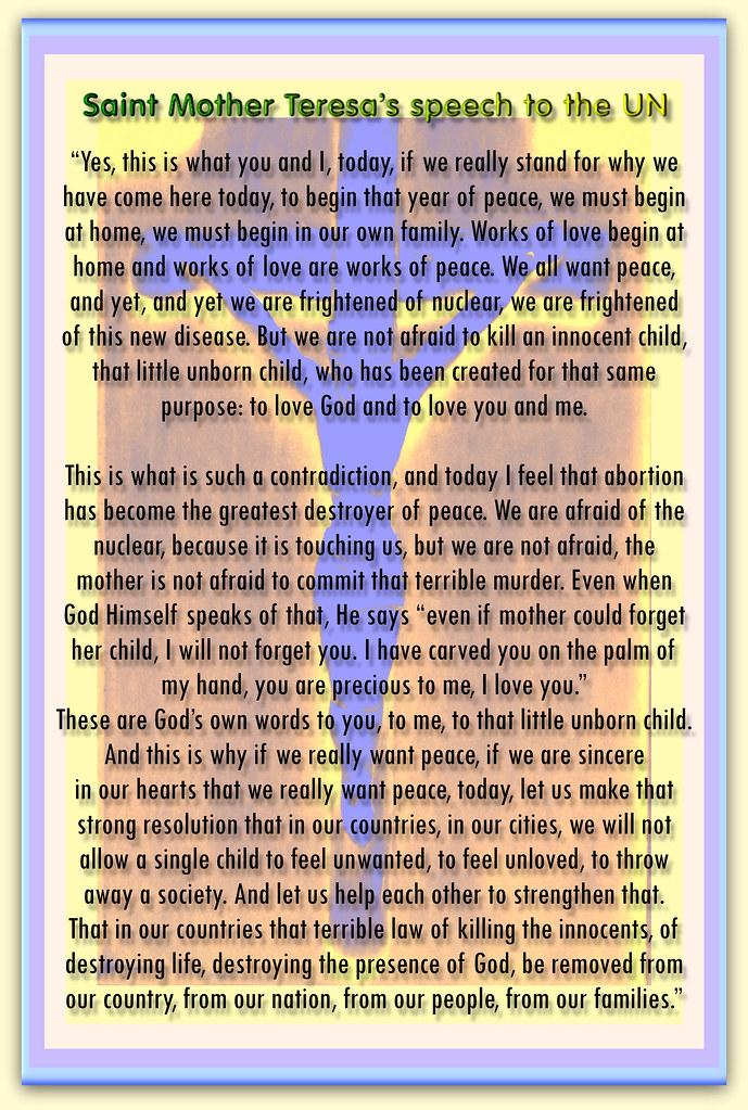 speech about love of god