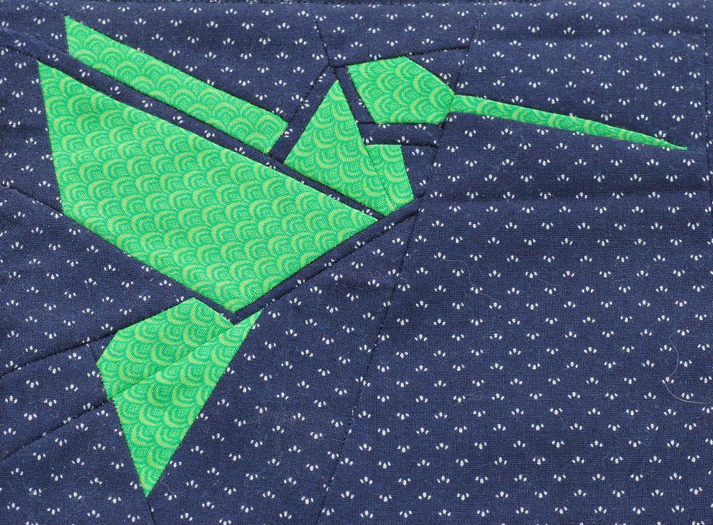 Hummingbird Origami Paper Piecing | humming bird origami ... - photo#6