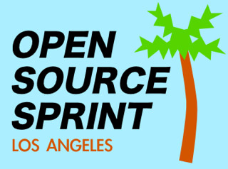 LA Open Source Sprint Logo | by pydanny