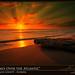 Sunrays Bursting Over the Atlantic Ocean Florida