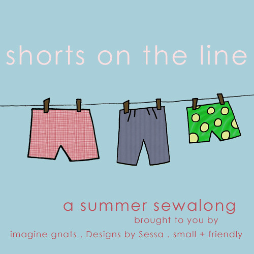 shorts on the line button | by imaginegnats