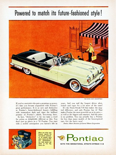 1955 Pontiac Star Chief Convertible | by aldenjewell