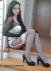 Pantyhose encasement blog