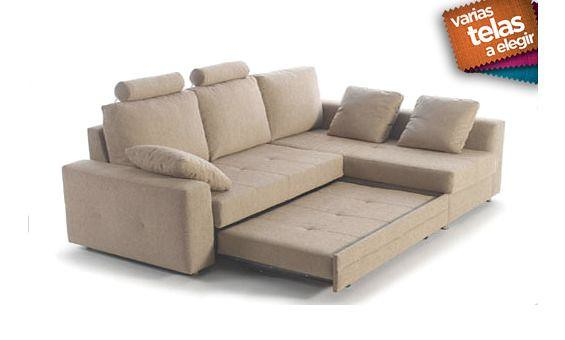 Sofa cama dos plazas mas chaise longue derecha shiito les flickr - Sofa cama chaise longue ...