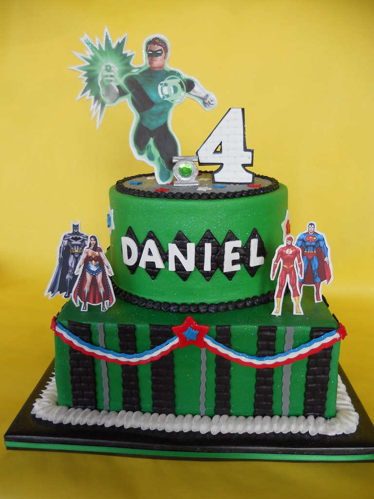 Green Lantern Birthday Cake Amy Stella Flickr