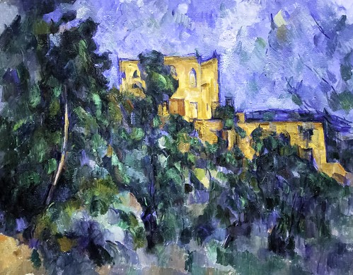 Paul Cézanne: Chȃteau Noir | by unbearable lightness