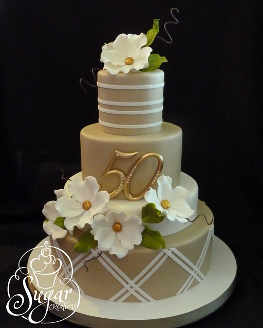 50th Anniversary Cake Flickr Photo Sharing