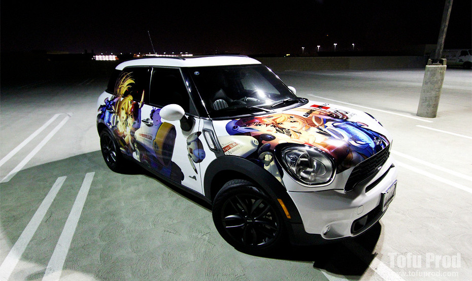 mirai itasha mini countryman version view more at flickr. Black Bedroom Furniture Sets. Home Design Ideas