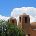 Towers of the New Mexico Museum of Art
